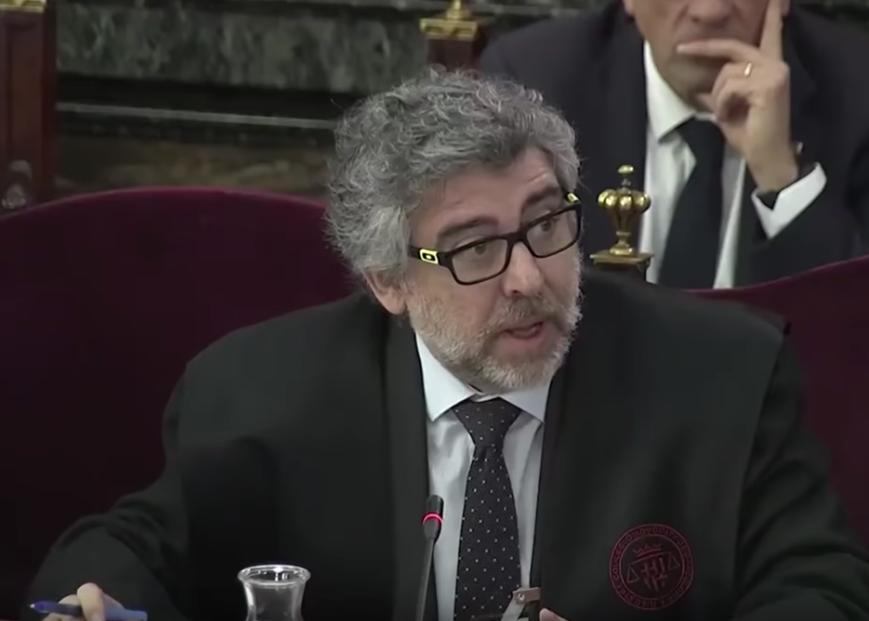 Jordi Pina, abogado de los exconsejeros Rull y Turull, y del expreside