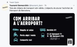 Twitter de Tsunami Democràtic