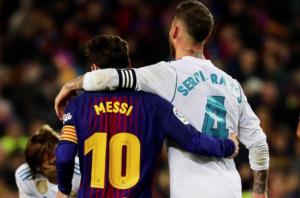 Messi, capità del Barça, i Ramos, capità del Madrid