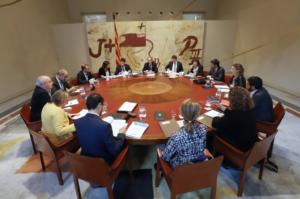 Reunió del govern català, la setmana passada