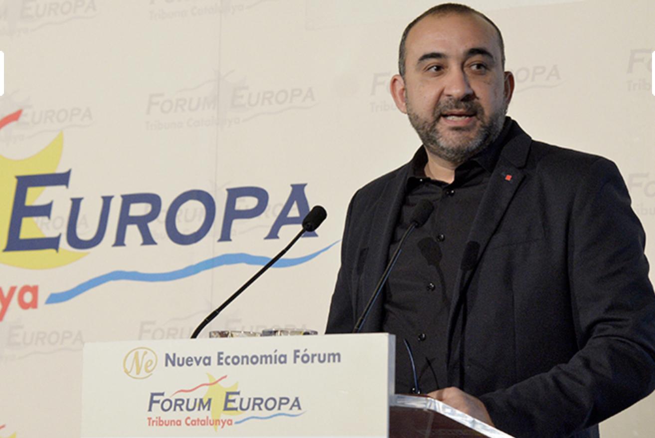 Javier Pacheco al Foro Europa
