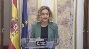 Meritxell Batet, presidenta del Congrés dels Diputats