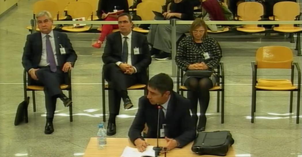 Trapero, declarant a l'Audiència Nacional