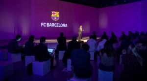 Bartomeu, en un acto del Barça