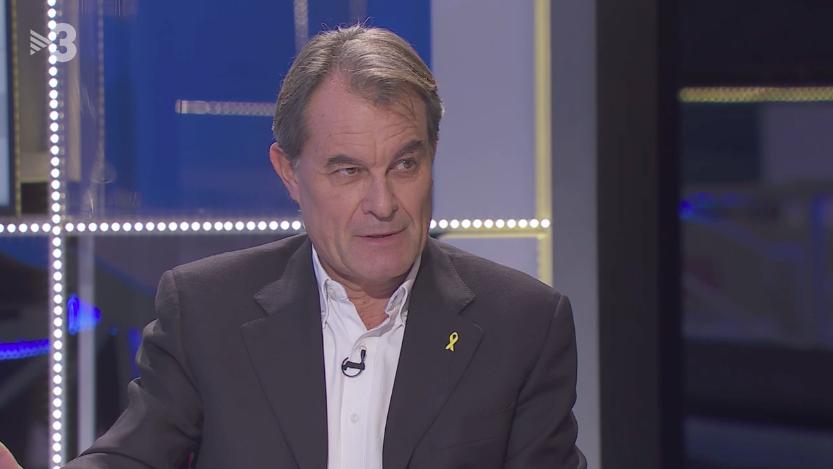 Artur Mas a TV3