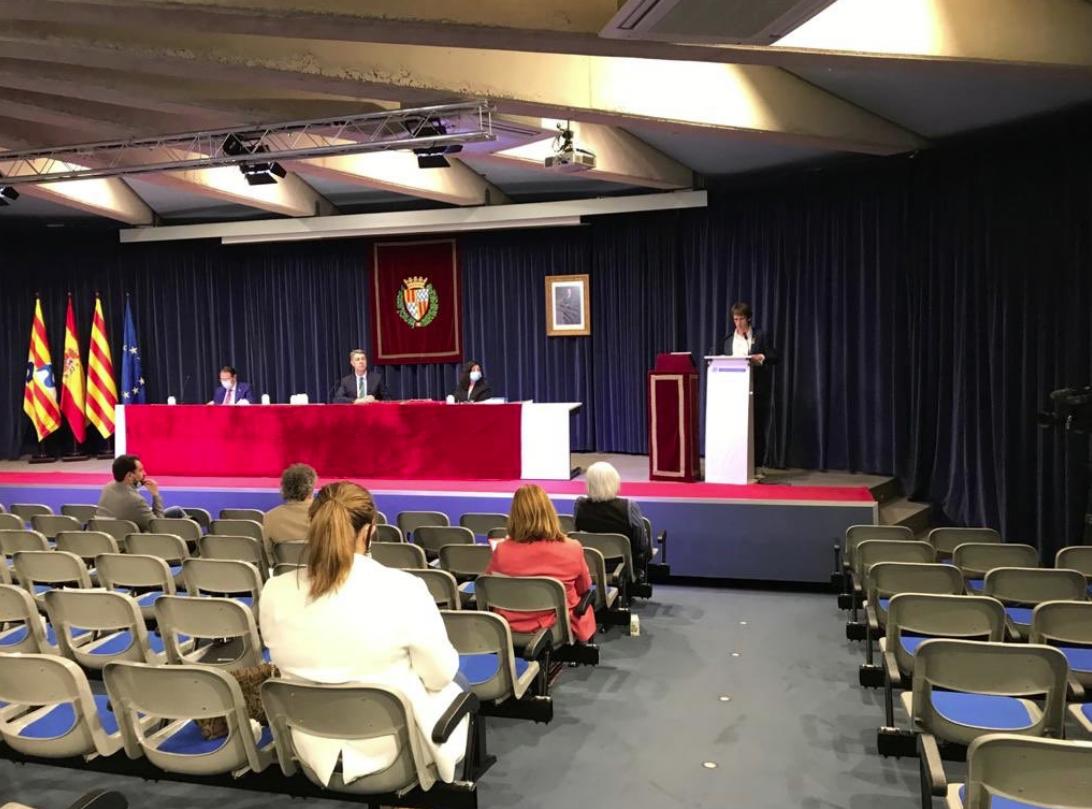 Intervención de Àlex Montornès (ERC) durante el pleno de este martes