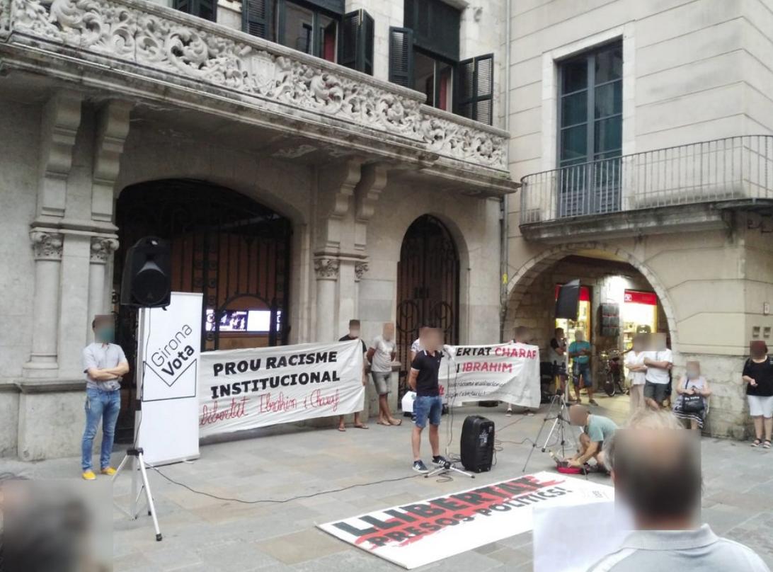 Acte de suport a Charaf Fadlaoui i Ibrahim Afkir