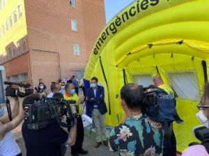 Nou equipament per reforçar les urgències de l'Hospital Arnau de Vil