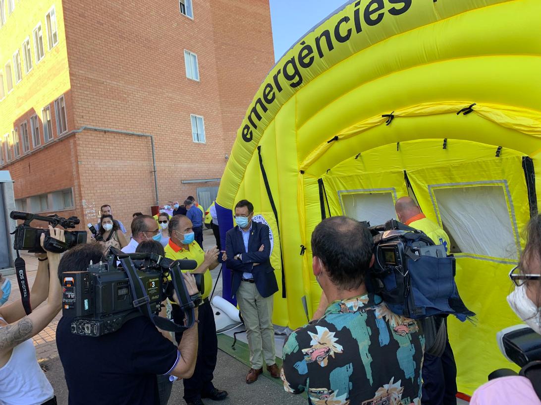 Nuevo equipamiento para reforzar las urgencias del Hospital Arnau de Vil