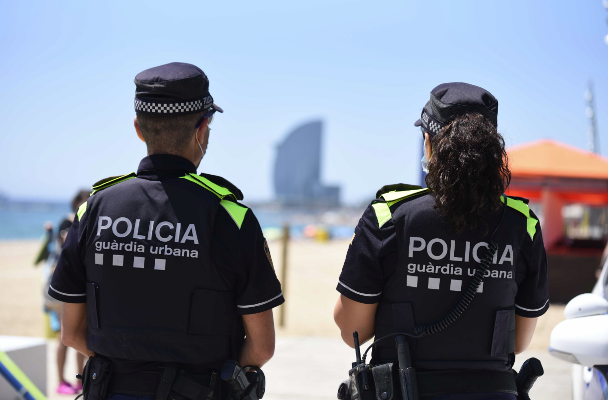 Agentes de la Urbana de Barcelona