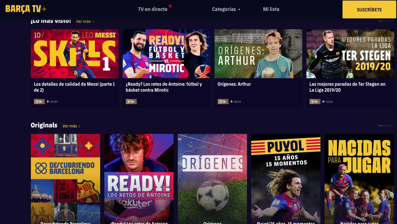 El documental sobre Arthur, al web del FC Barcelona