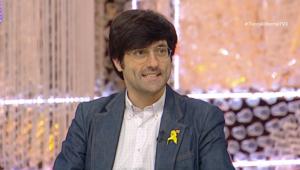 Joan Maria Piqué, a TV3, l'any 2018