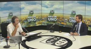 Pablo Casado, entrevistado en Onda Cero