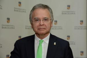 Joan Elias, rector de la UB
