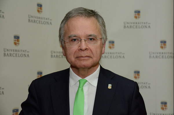 Joan Elias, rector de la UB