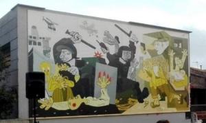 El cartell encarregat per l'ANC Moià-L'Estany