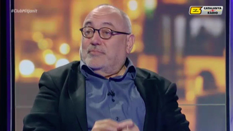 Carlos Pérez de Rozas, en una tertulia deportiva