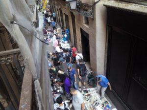 Carrer Rauric del Raval de Barcelona