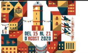 Fragmento del cartel de la Fiesta Mayor de Gràcia 2020