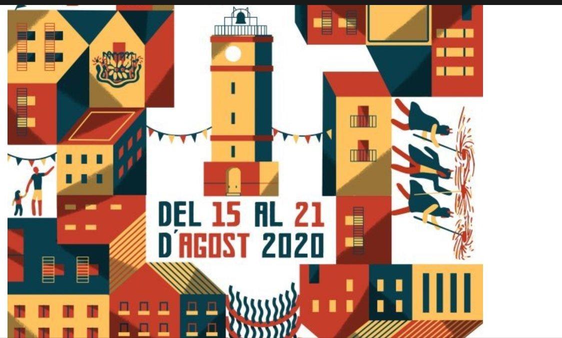 Fragment del cartell de la Festa Major de Gràcia 2020