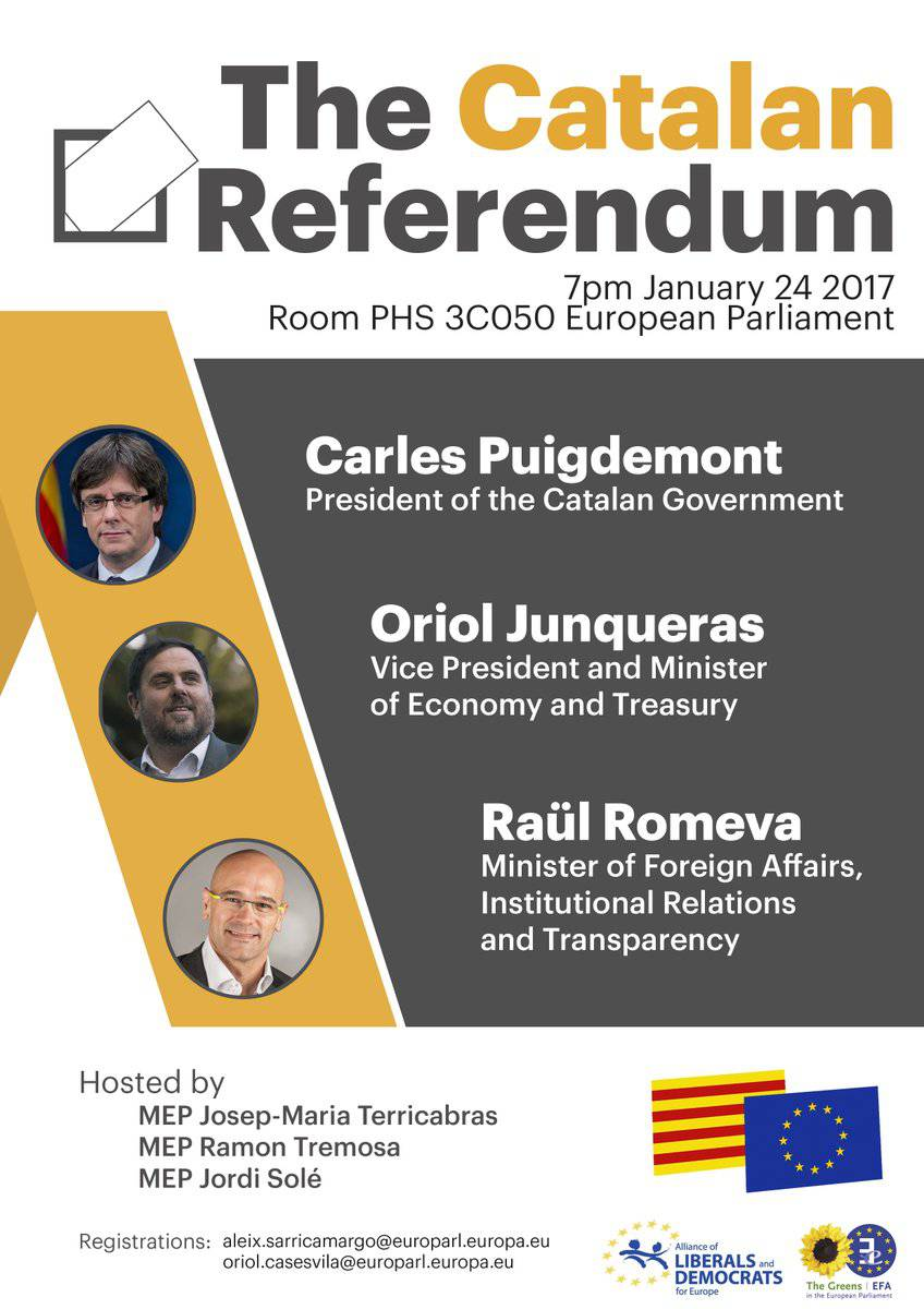 acte parlament europeu puigdemont junqueras romeva