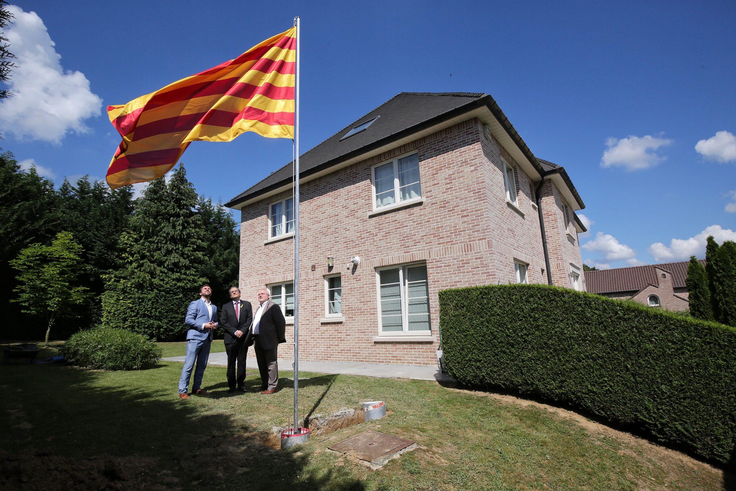La seu del Consell per la República i residència de Carles Puigdemon
