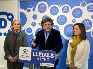 Núria de Gispert, Toni Castellà y Titon Laïlla