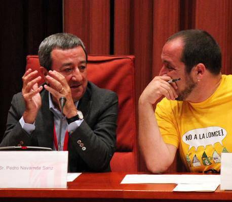Navarrete, a la comissió Pujol