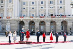 Celebració del 12-O al Palau Reial