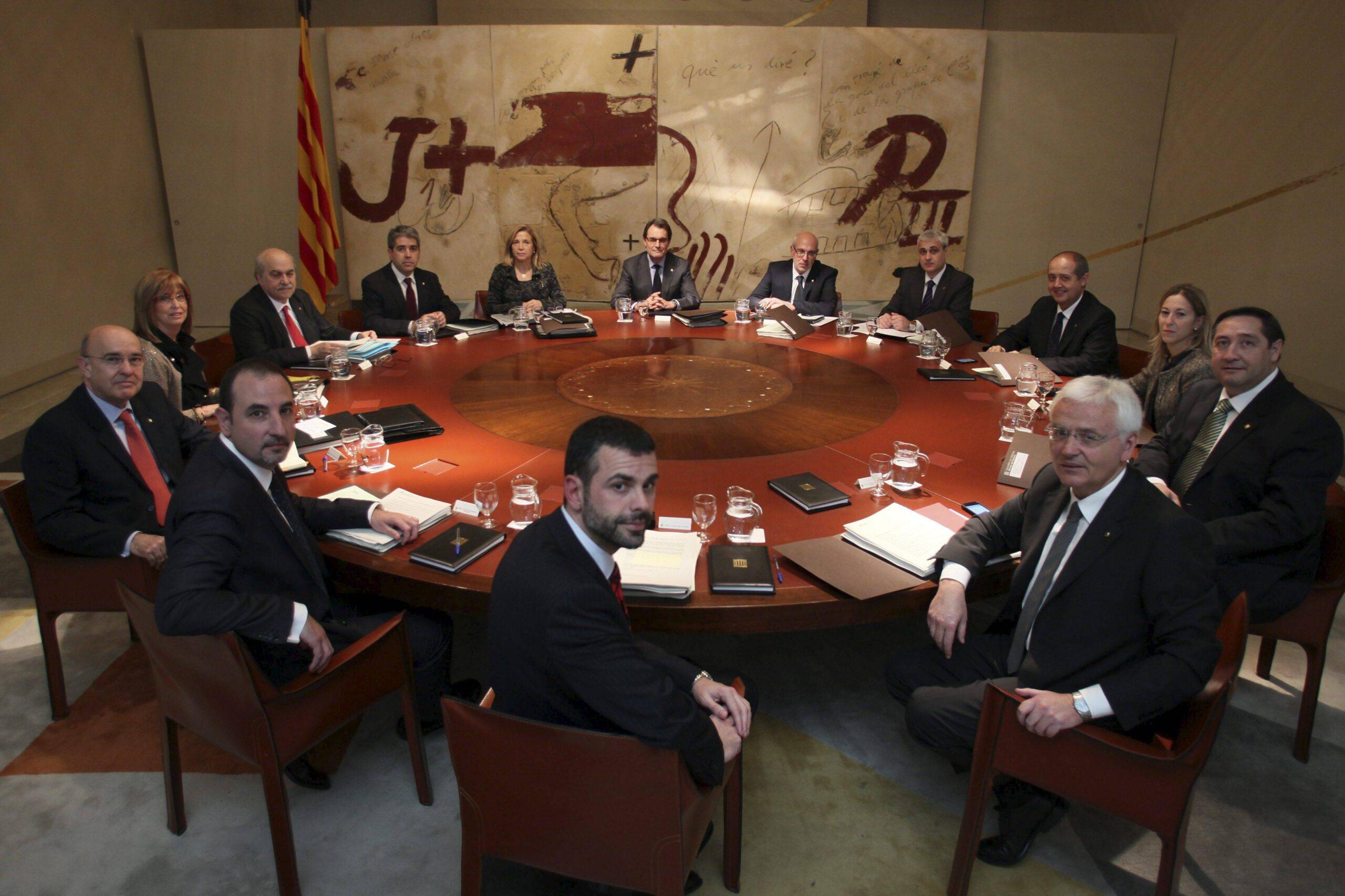 consell govern mas generalitat