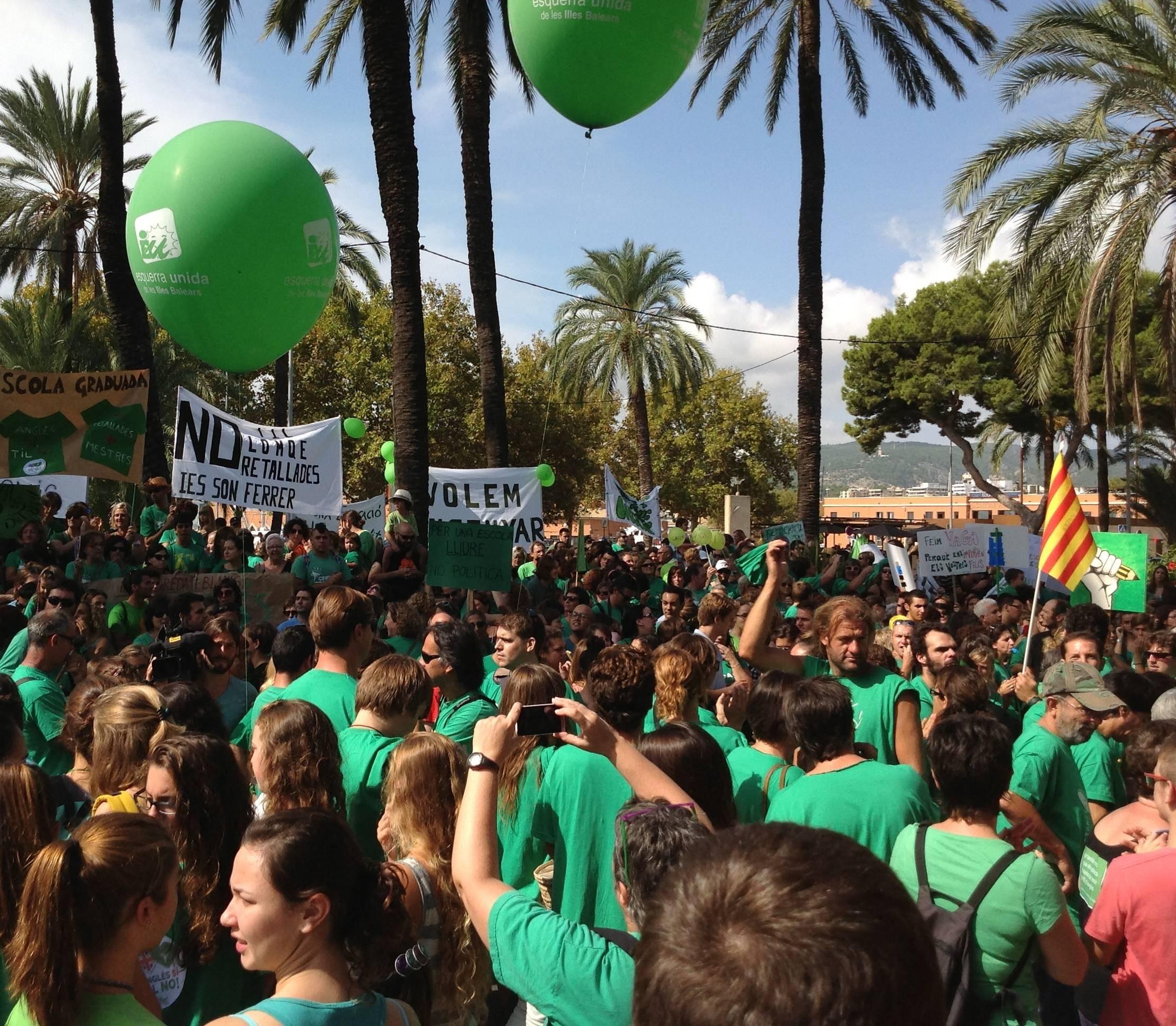 Protesta Palma