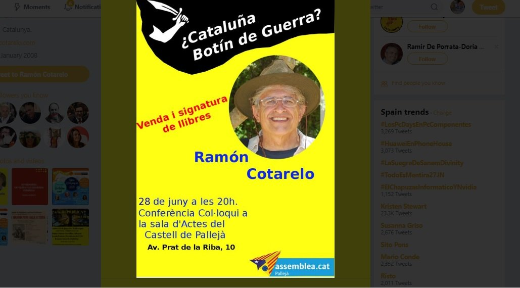 Ramon Cotarelo a Pallejà