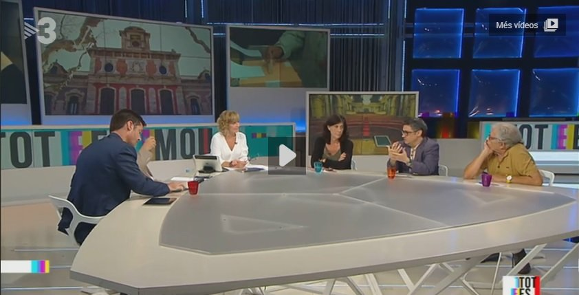 Ramon Cotarelo vuelve al 'Tot es Mou' de Tv3