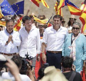 Manuel Valls con Ciutadans