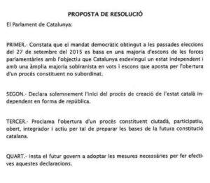 """Resolució per la """"República"""""""