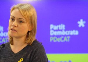 Maria Senserich, portaveu del PDECat