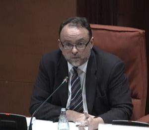 Daniel Fernández a la comissió Pujol
