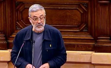 Carles Riera, al debat investidura de Quim Torra