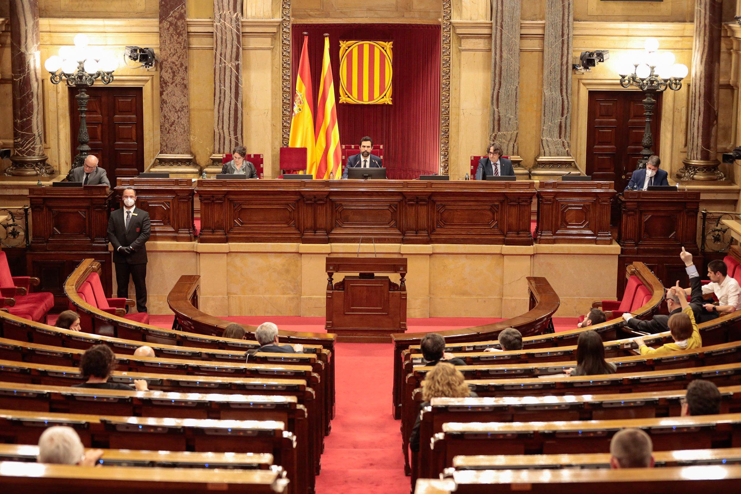 Debate de los presupuestos de la Generalitat para 2020