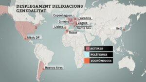 Delegacions de la Generalitat a l'estranger