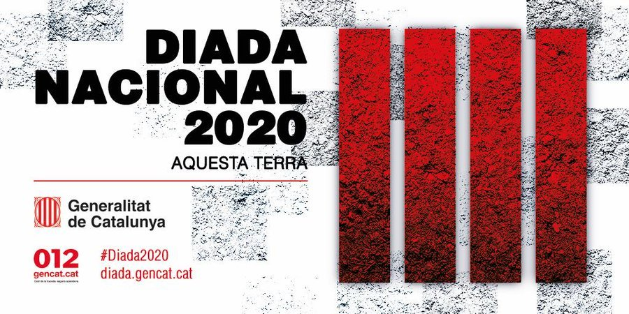 Cartell de la Diada del 2020 fet per Cèlia Martín