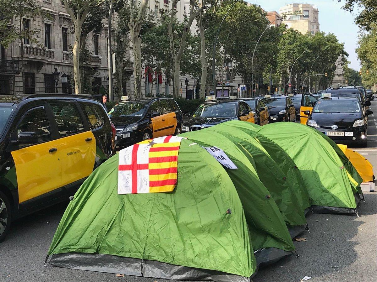Protestes taxistes