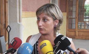 Alba Vergés, consellera de Sanitat