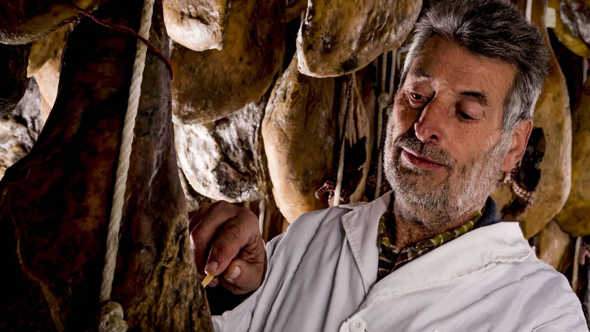 El tarragoní Eduardo Donato, el del millor pernil del món.