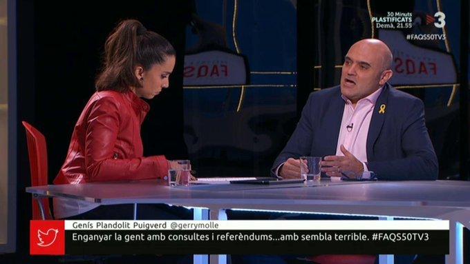 Xavier Vendrell, a Tv3
