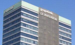 Edificio del grupo Godó y 'La Vanguardia'