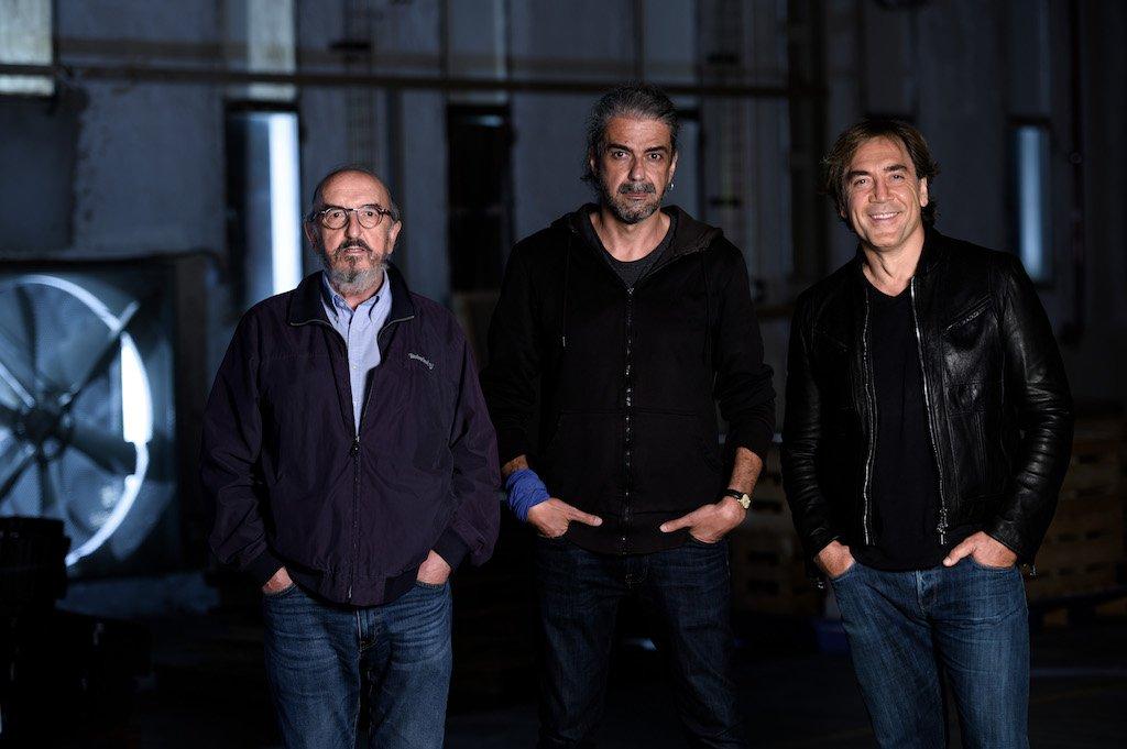 Jaume Roures, Fernando León de Aranoa y Javier Bardem