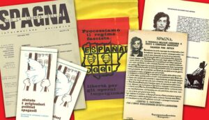 Documents i pasquins contra l'execució de Salvador Puig Antich