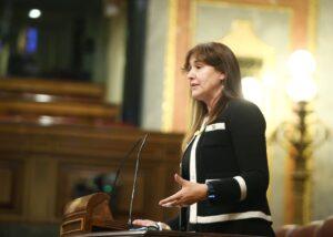 Laura Borràs, en el Congreso