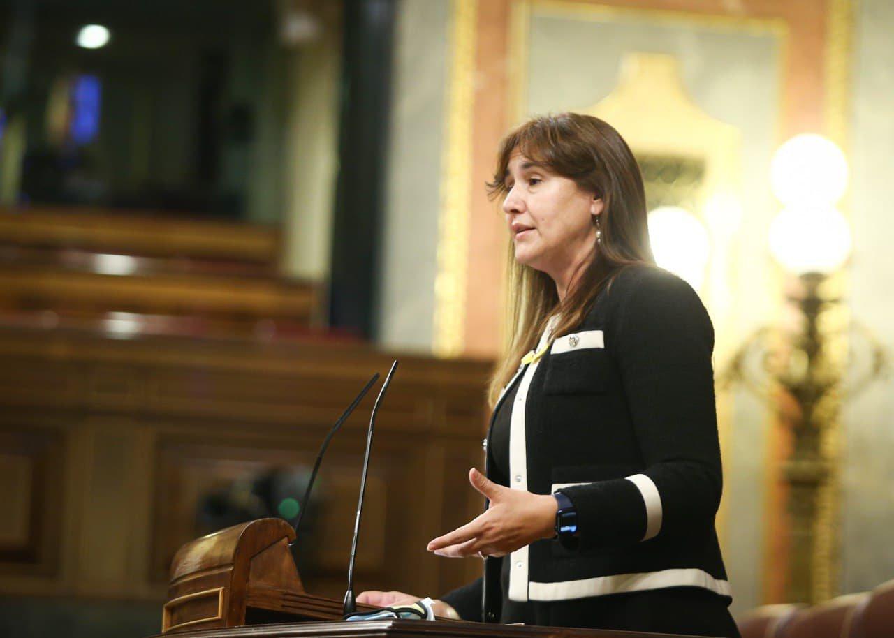 Laura Borràs, al Congrés
